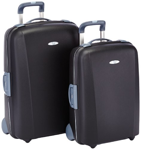 Roncato Set 2 trolley 2 ruote, Nero, 500520