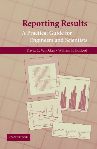 Reporting Results: A Practical Guide for Engineers and...