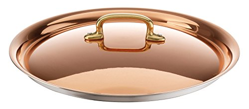 Paderno World Cuisine Copper-Stainless Steel Lid, 7 7/8-Inch