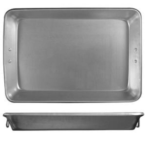 "Aluminum Baking / Roasting Pan W/ Handles 26¼""X18¼""X3¼"" * Commercial Quality *"