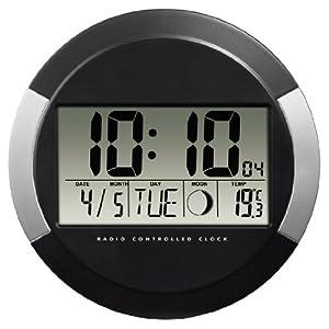 Hama pp-245 - Reloj de pared digital, color negro marca Hama Kitchen