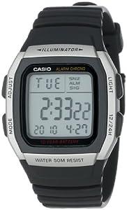 Casio Men's Alarm Chronograph Digital Sport Watch #W96H-1AV