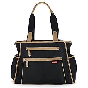 skip hop grand central take it all diaper bag black. Black Bedroom Furniture Sets. Home Design Ideas