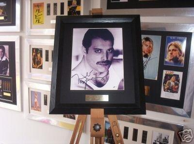 Queen Freddie Mercury-Stampa autografata & Signed Music Memorabilia