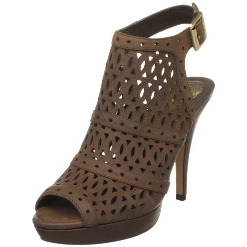 Vince Camuto Women's Mimis Ankle-Strap Sandal,Taupe Brown,10 M US