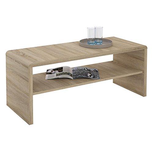 Couchtisch-TV-Lowboard-LENNI-100x40x40-cm-in-Sonoma-Eiche-mit-Ablagefach