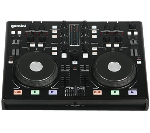 cheap gemini dj ctrl one midi controller. Black Bedroom Furniture Sets. Home Design Ideas
