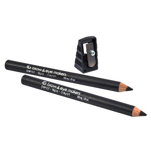 Cover Girl Brow & Eyemaker Eye Brow Pencil - Midnight Black