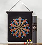 Magnetic Dart Board Set Hanging Wall Rubber Dartboard
