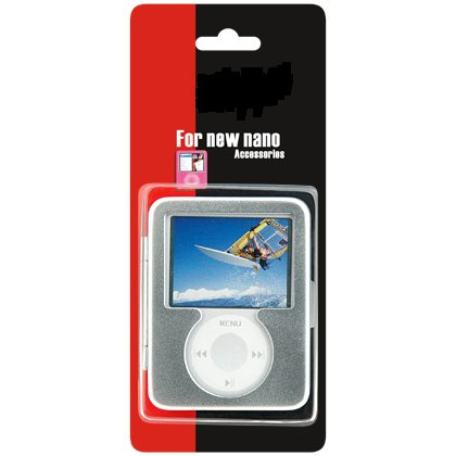 Apple 3rd Generation iPod Nano 4gb 8gb Video Premium Aluminum Carrying Case