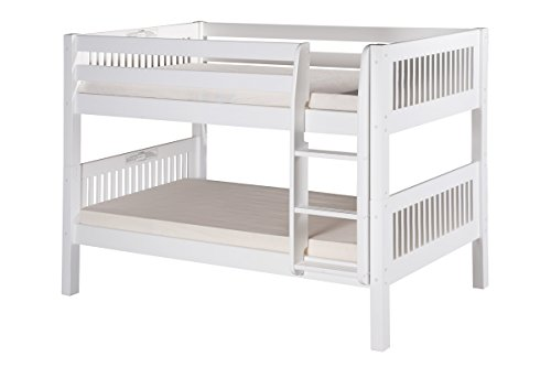 Low Loft Bed With Storage 599 front