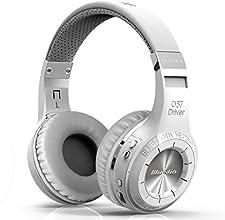 Bluedio HT (Shooting Brake) Wireless Bluetooth 4.1 Stereo Headphones (White)