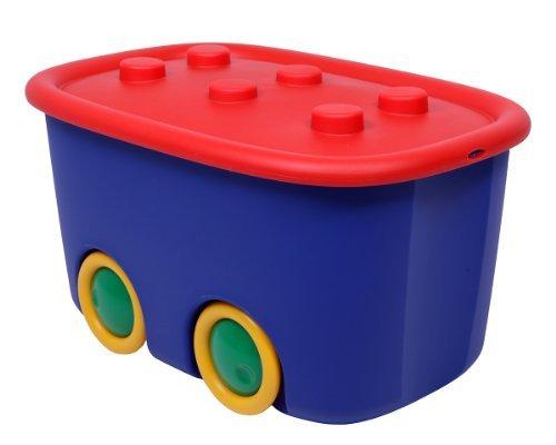 Aufbewahrungsbox-Spielzeugbox-Funny-rot-blau