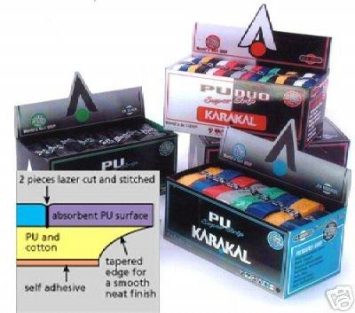 Karakal PU Super Grip, 24er Box, schwarz