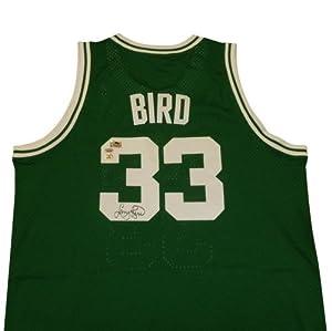 Larry Bird Autographed Boston Celtics (Green #33) Adidas Hardwood Classics Swingman... by PalmBeachAutographs.com
