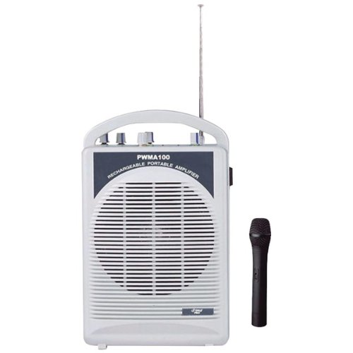 Rechargeable Pa Speaker With Wireless Microphone - Pyle Pro