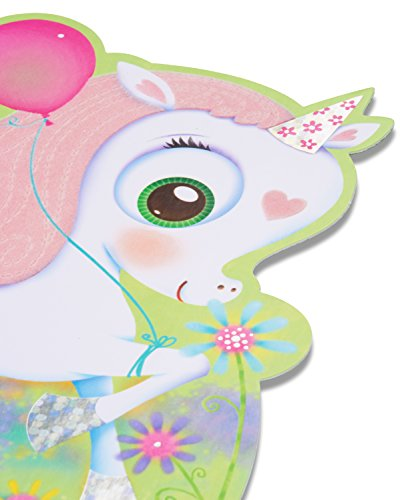 American-Greetings-Unicorn-Birthday-Card-for-Girl-with-Foil