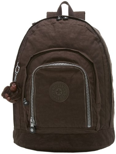 Kipling Hiker Expandable Backpack,Espresso,One Size