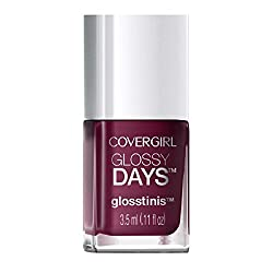 Covergirl Glossy Days Glosstinis Nail Gloss, 680 Techno Glow