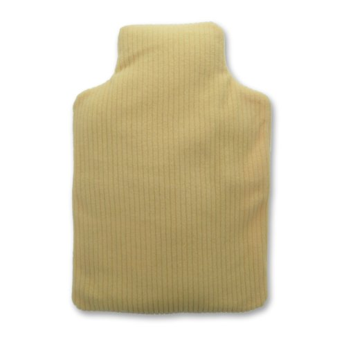 Hot Bottle Body Warmer - Microwavable Lavender Wheat Bag - Yellow