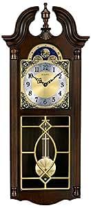 bulova chadwick wall chime clock c3513 home