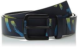 Quiksilver Men's Re Mix Belt, Navy Blazer, Medium/34