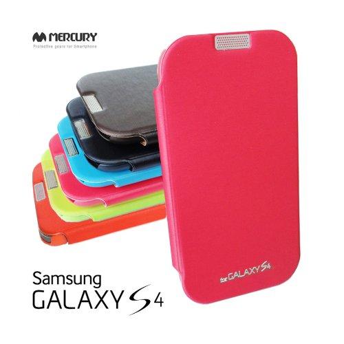 2点セット GALAXY S4 MERCURY デザイン フリップ カバー ケース カード 収納機能 ワンセグ対応 ワンセグアンテナ対応( docomo Galaxy S4 SC-04E / Samsung Galaxy S IV 2013年モデル 対応)ギャラクシー エスフォー ケース ドコモ カバー ジャケット Flip Cover CaseStylish PastelPink(桃 桃色 パステルピンク ピンク) 1306004