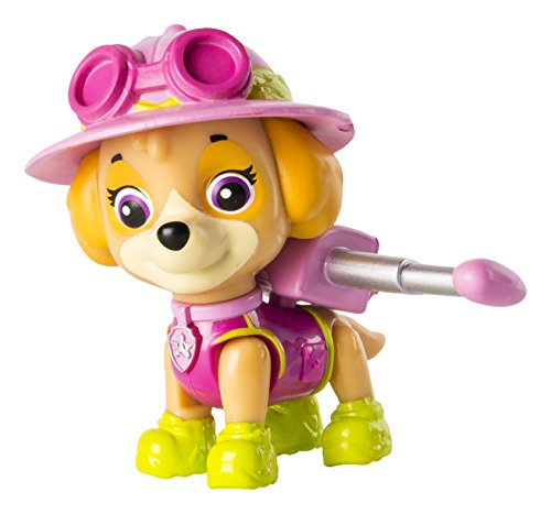 Spin Master - Figura Paw Patrol Eroe Pup Jungle Skye Azione