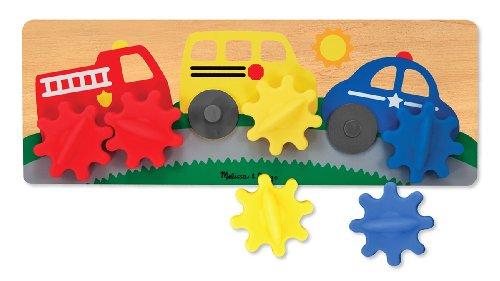 Melissa & Doug Spinning Wheels Gear Toy