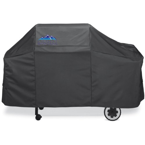 Yukon Glory 7552 Premium Cover. Water Resistant Heavy Duty Material Fits Weber Genesis Silver/Gold Series Gas Grills