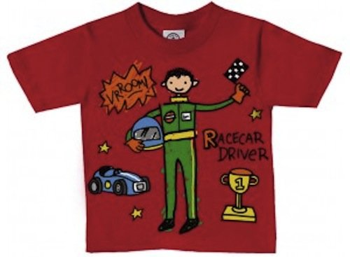 Race Car Driver Toddler Tee in Gift Box
