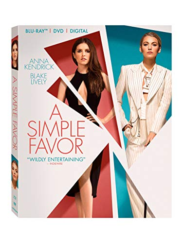 Blu-ray : A Simple Favor (With DVD, 2 Pack, Dolby, AC-3, Subtitled)