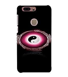 PrintVisa HUAHONOR8-Peace Symbol Plastic Back Cover for Huawei Honor 8 (Black)