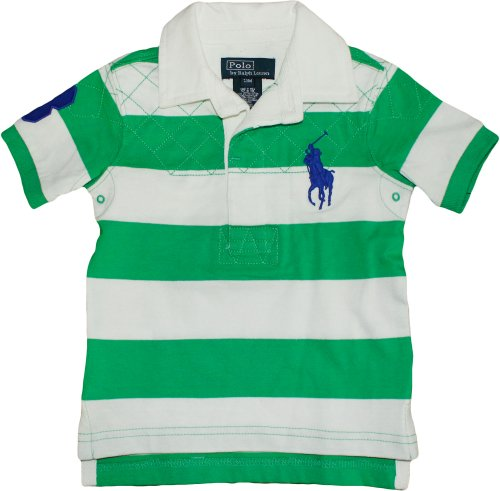 Polo Ralph Lauren Baby Boy S Striped Big Pony Rugby Tiller