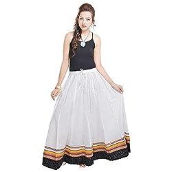 Prateek Retail Long Red Skirt