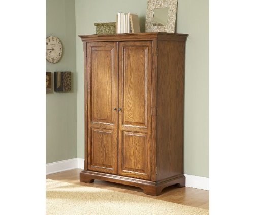 Buy Low Price Comfortable Riverside Seville Square Computer Armoire (B0034T6FBM)