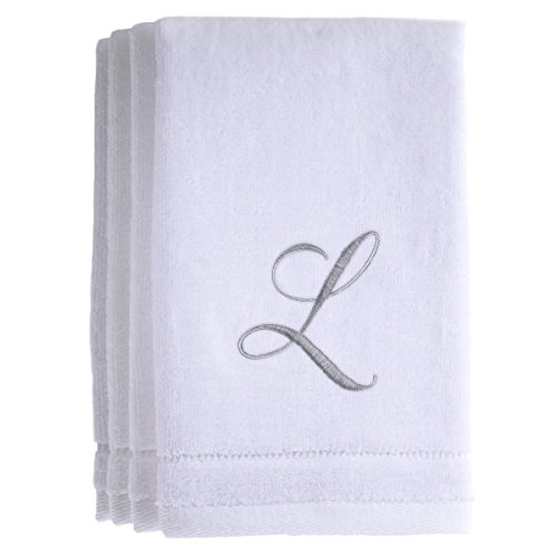 monogrammed-towels-fingertip-personalized-gift-11-x-18-inches-set-of-4-silver-embroidered-towel-extr