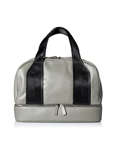 Jil Sander Men's Leather Duffel, Open Grey