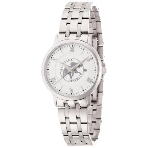[ハンティングワールド]Hunting World 腕時計 カヴァリエレ シルバー クォーツ レディース HW018LSI レディース 【正規輸入品】