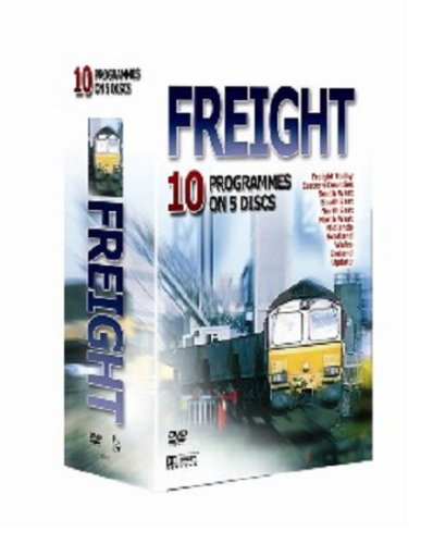 10 Pack: Rail freight  (including Rail Freight Today 1, Rail Freight Today 2, Rail Freight Today 3, Rail Freight Today 4, Rail Freight Today 5, Rail Freight Today 6, Rail Freight Today 7, Rail Freight Today 8, Rail Freight Today 9, Rail Freight Today 10 [DVD] [2007]