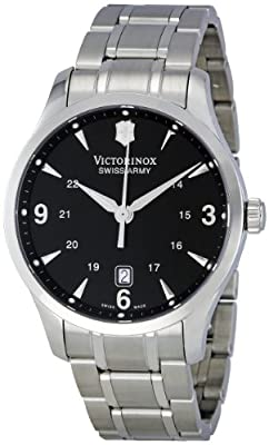 Victorinox Swiss Army Men's 241473 Black Dial Watch by Victorinox Swiss Army