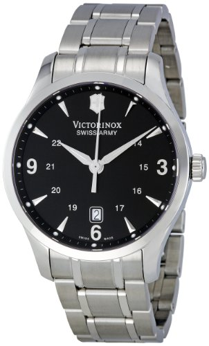 Victorinox Swiss Army Men's 241473 Black Dial Watch