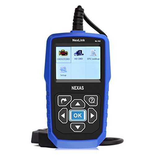 Heavy Duty Truck Scanner NexLink NL102 12V 24V HD OBD ABS Engine Transmission Brake Heavy Truck Scan Tool, Car OBD2 Scanner, Car&Truck 2 in 1 With Battery Test Function Code Reader (Heavy Duty Trucks compare prices)