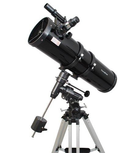 Black Twinstar 6 Inch Long Tube Newtonian Reflector Telescope