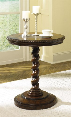 Cheap Hidden Treasures Twisted End Table (T71054-00)