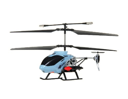 DH 813-3 Alloy 4.5-Channel RC Helicopter with Gyroscope and Missiles