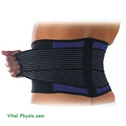 Neoprene Double Pull Lumbar Back Support Brace