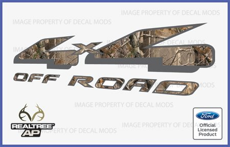 Ford F150 4×4 Offroad Decals Stickers RealTree AP (1997-2008) – AP