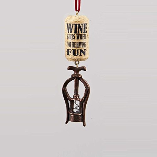 wine ornaments for christmas