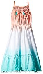 Pumpkin Patch Girls' Dress (S5GL80032_Melon_8)